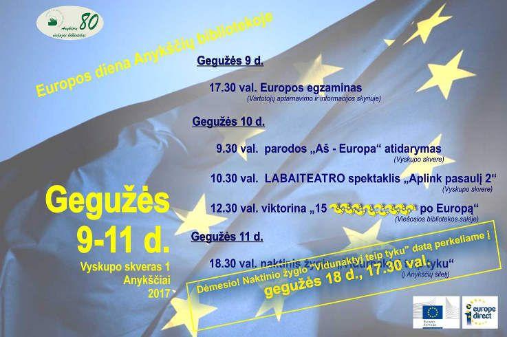 """Parodos """"Aš - Europa"""" atidarymas"""