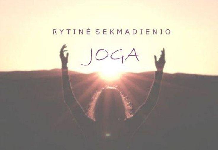 Rytinė sekmadienio joga