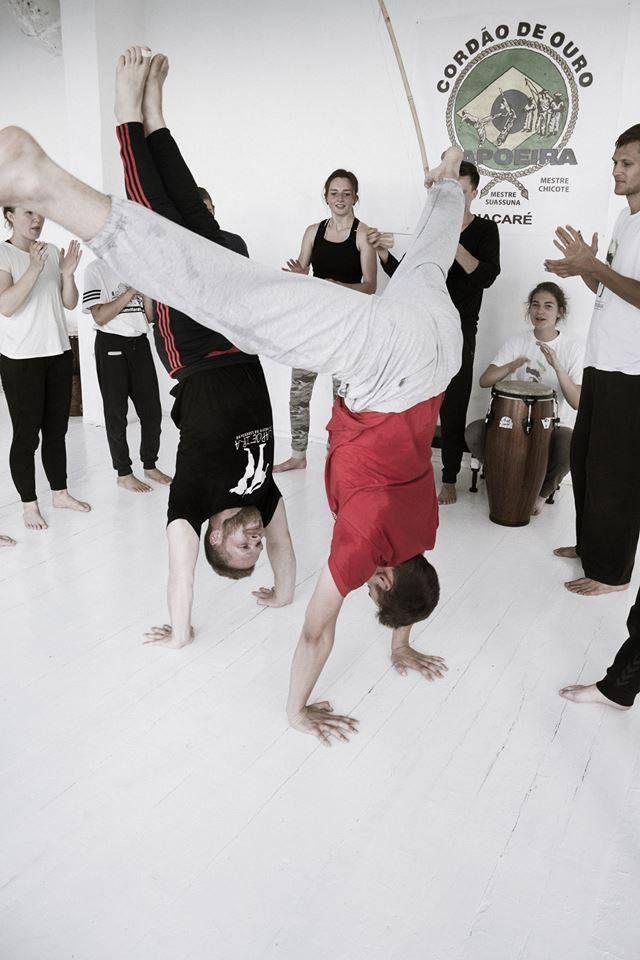 Capoeira - brazilų kovos meno užsiėmimai Anykščiuose