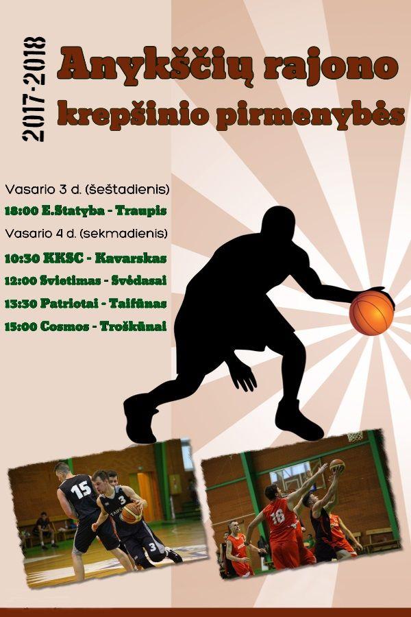 """Anykščių rajono krepšinio pirmenybės VIII turas - """"KKSC"""" - """"Kavarskas"""""""