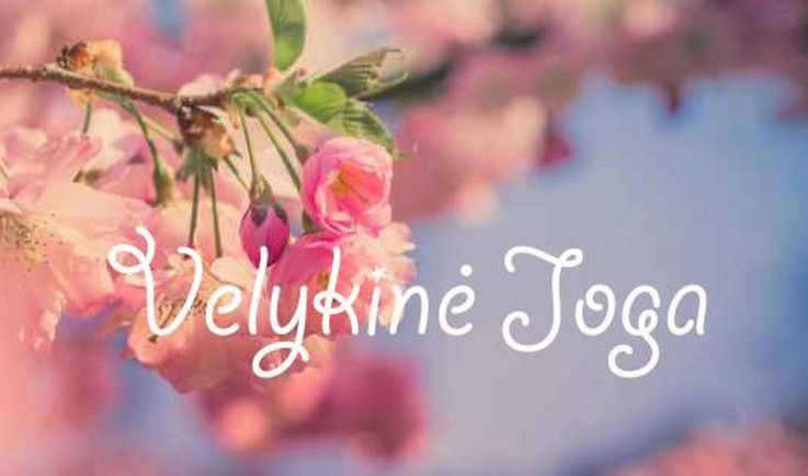Velykinė Šeštadienio joga