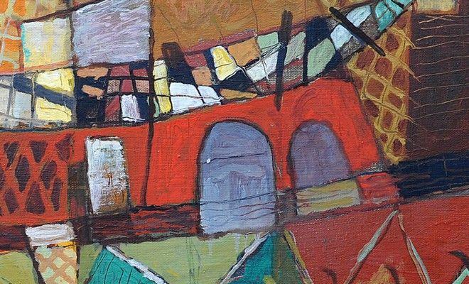 """Dailininko Romualdo Pučeko tapybos parodos """"Poetinė geometrija"""" atidarymas ir susitikimas su autoriumi"""