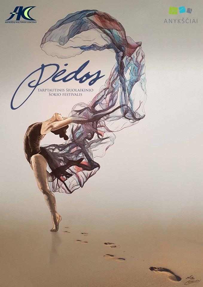 """Tarptautinis šokio festivalis """"Pėdos"""""""
