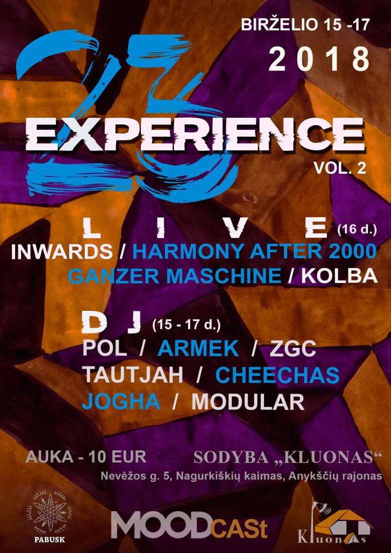 """Elektroninės muzikos festivalis """"23Experience"""" (Vol. 2) - Pagrindinis koncertas"""