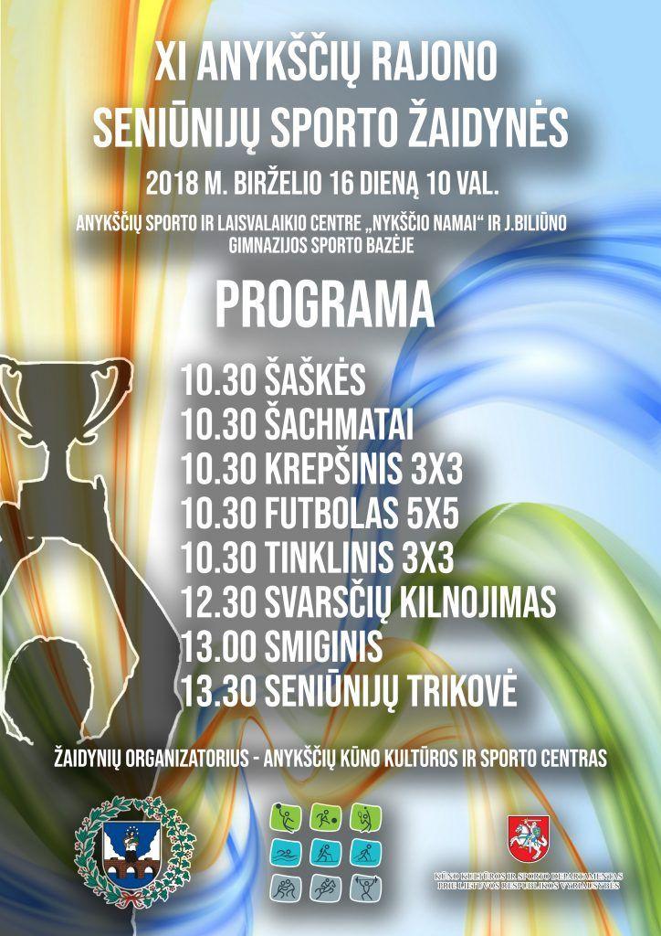 XI Anykščių rajono seniūnijų sporto žaidynės (2018)