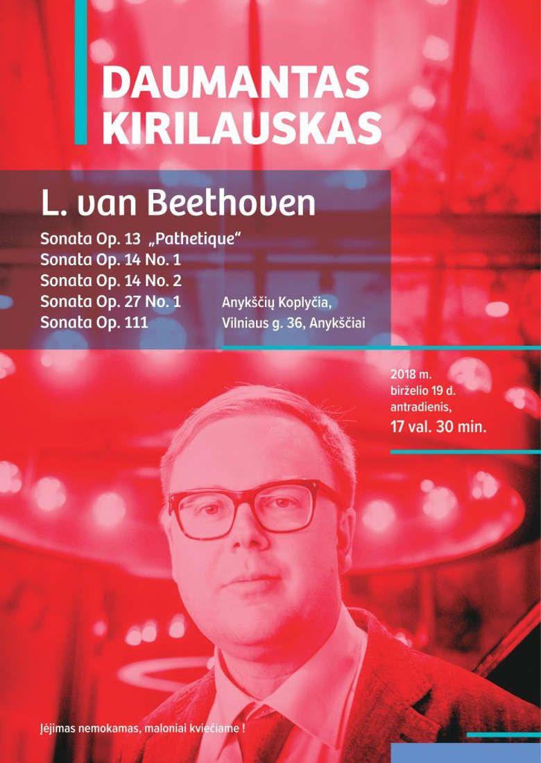 Pianisto Daumanto Kirilausko koncertas