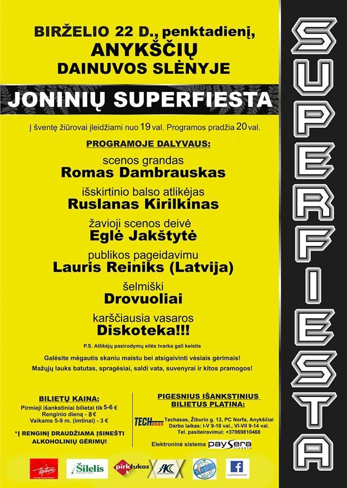 "Joninių ""Superfiesta"" (2018)"