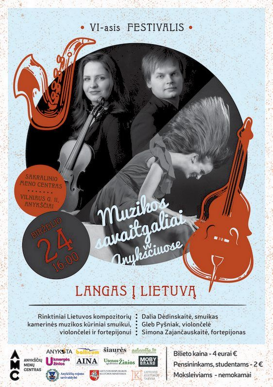 """Festivalis """"Muzikos savaitgaliai Anykščiuose"""" (2018) - Festivalio atidarymo koncertas """"Langas į Lietuvą"""""""