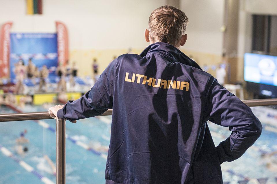 Atviras Lietuvos trumpo vandens plaukimo čempionatas Anykščiuose - Pirmoji diena