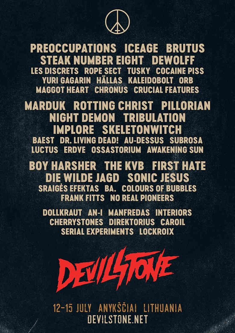 "Festivalis ""Devilstone"" (2018) - Antroji diena"