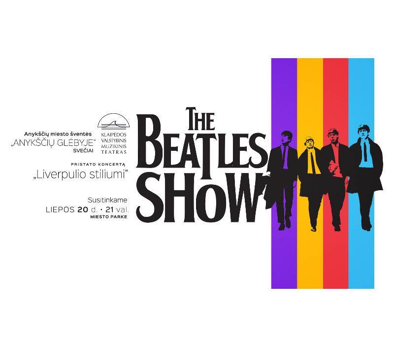"""Anykščių miesto šventė (2018) - """"Anykščių glėbyje"""" - Teatralizuotas koncertas """"The Beatles Show"""""""