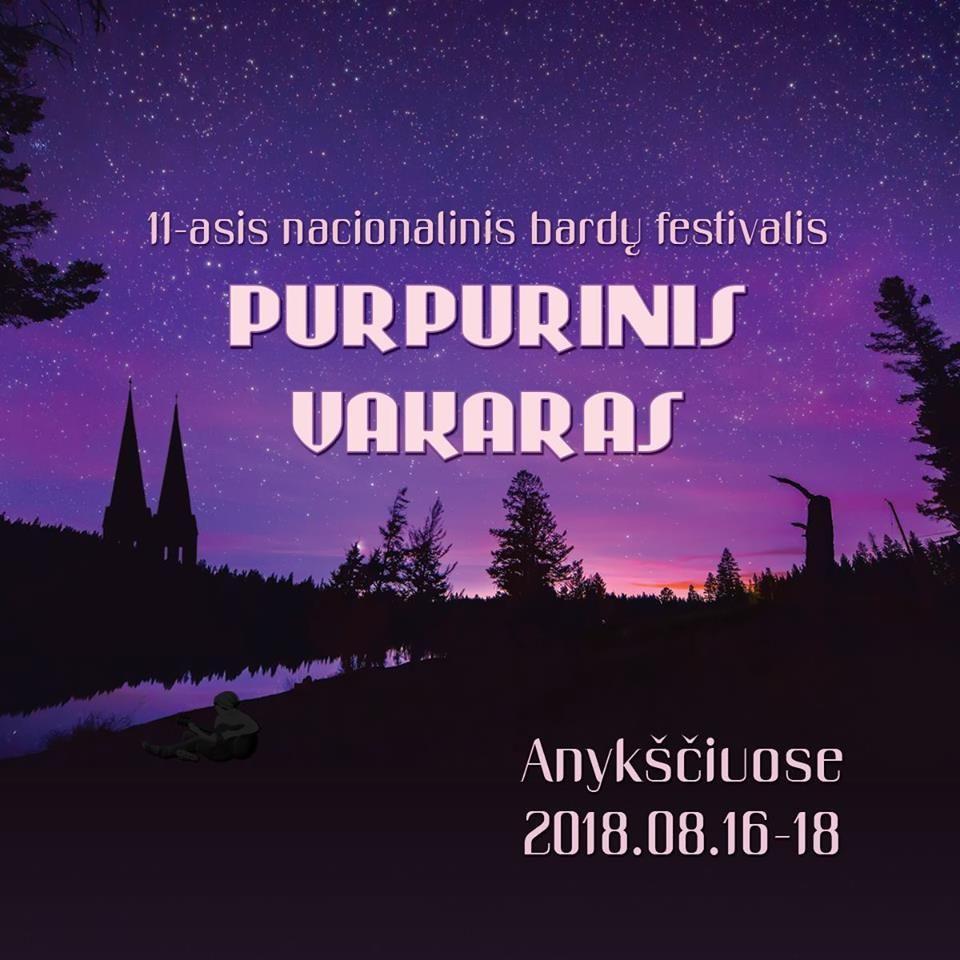 """Festivalis """"Purpurinis vakaras"""" (2018) - Susitikimas su poete Dalia SAUKAITYTE ir jos kūrybos rinktinės """"Purpurinis vakaras"""" sutiktuvės"""