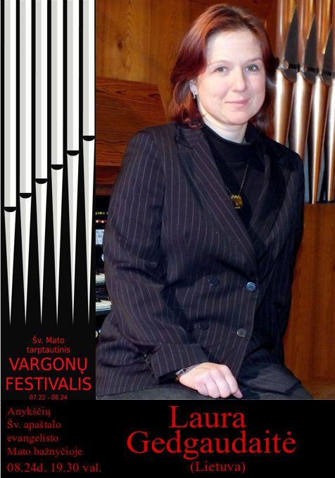 18-tas Šv. Mato Tarptautinis Vargonų Festivalis - Laura Gedgaudaitė / Kristīne Adamaite