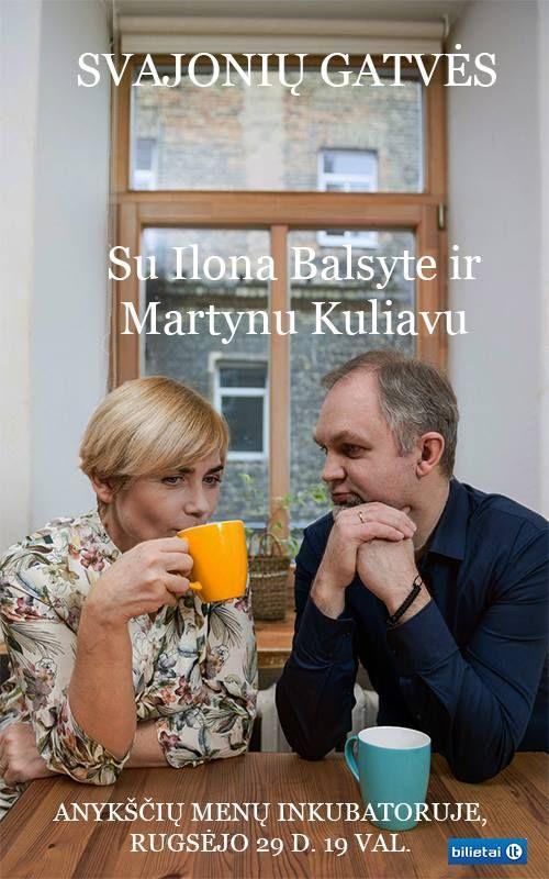 """Ilonos Balsytės ir Martyno Kuliavo koncertas """"Svajonių gatvės """""""