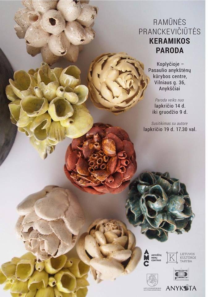 Ramūnės Pranckevičiūtės keramikos paroda Koplyčioje!