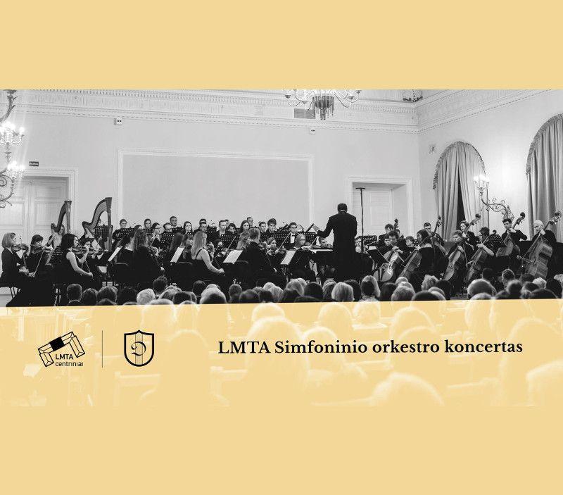 LMTA Simfoninio orkestro koncertas
