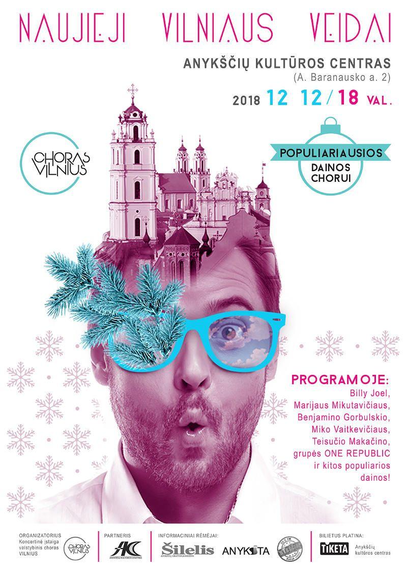 """Choro """"VILNIUS"""" šventiniai """"Naujieji Vilniaus veidai"""" Anykščių kultūros centre"""