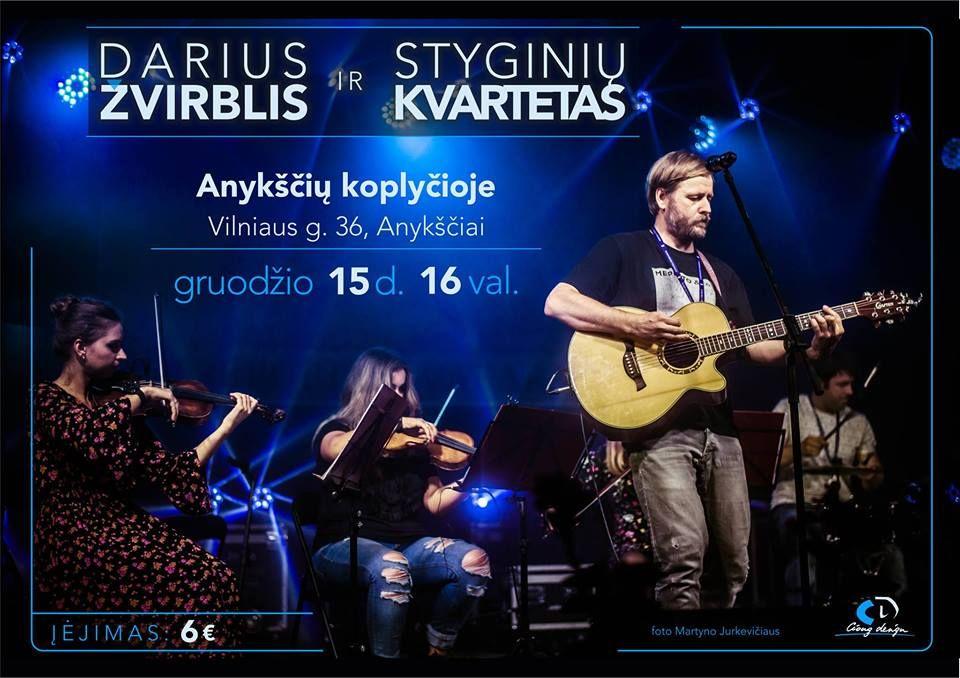 Darius Žvirblis ir styginių kvartetas