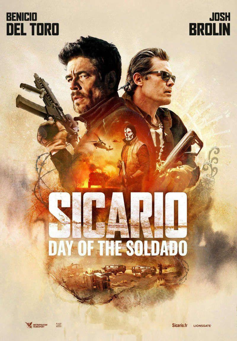 "Stefano Sollima ""Sicario 2: Kartelių karai"" (2018, trukmė: 2:00)"