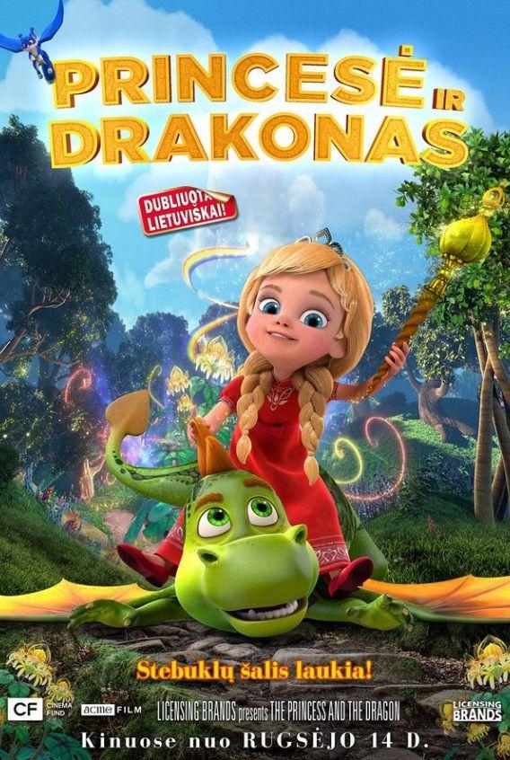 """Marina Nefedova """"Princesė ir drakonas"""" (2018, trukmė: 1:40)"""