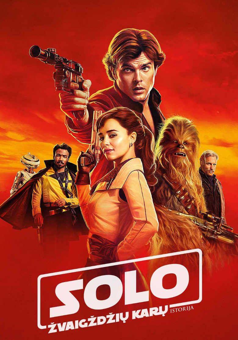 """Ron Howard - """"SOLO: Žvaigždžių karų istorija, 2D"""" (2018, trukmė: 2:15)"""