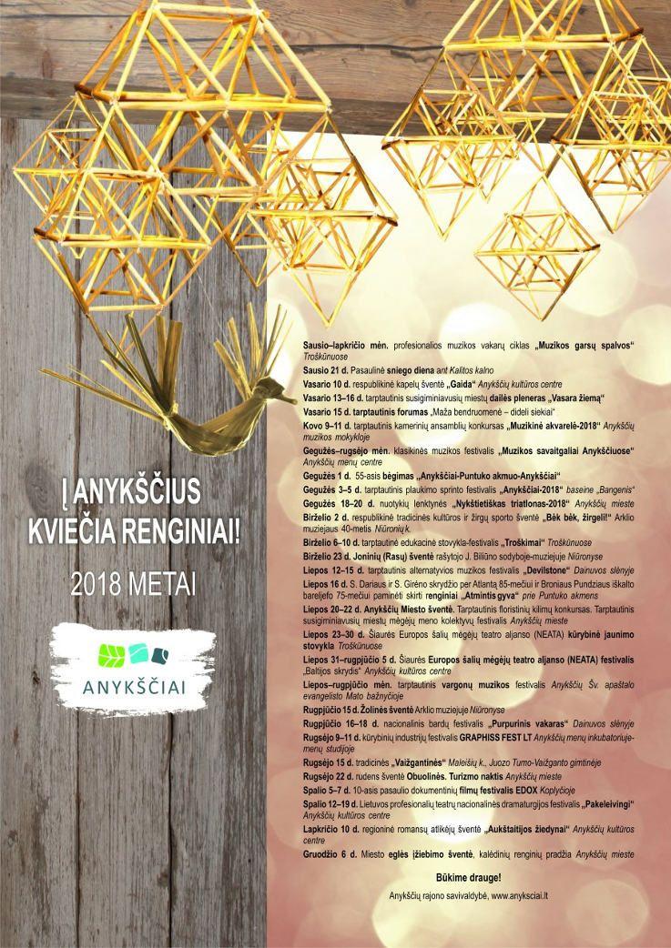 """Anykščių krašto mėgėjų meno kolektyvų palydos į Lietuvos šimtmečio dainų šventę """"Vardan tos..."""""""
