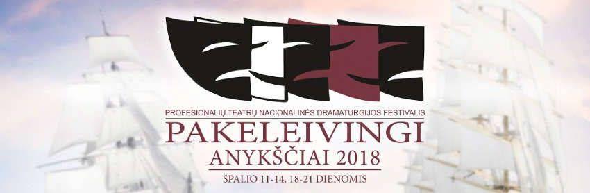 """Nacionalinės dramaturgijos festivalis """"Pakeleivingi"""" (2018) - Valstybinis Šiaulių dramos teatras """"Viešbučio šeimininkė"""""""