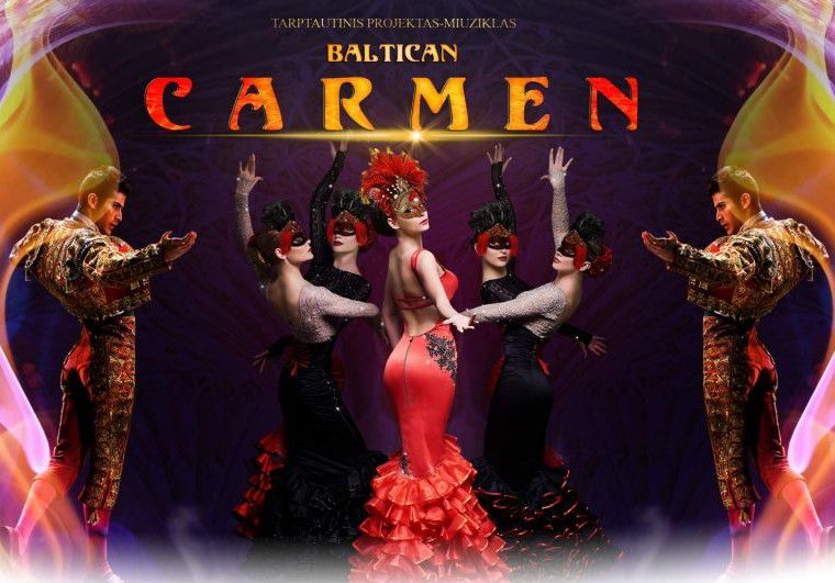 "Tarptautinis projektas-miuziklas ""Baltican Carmen Show"""