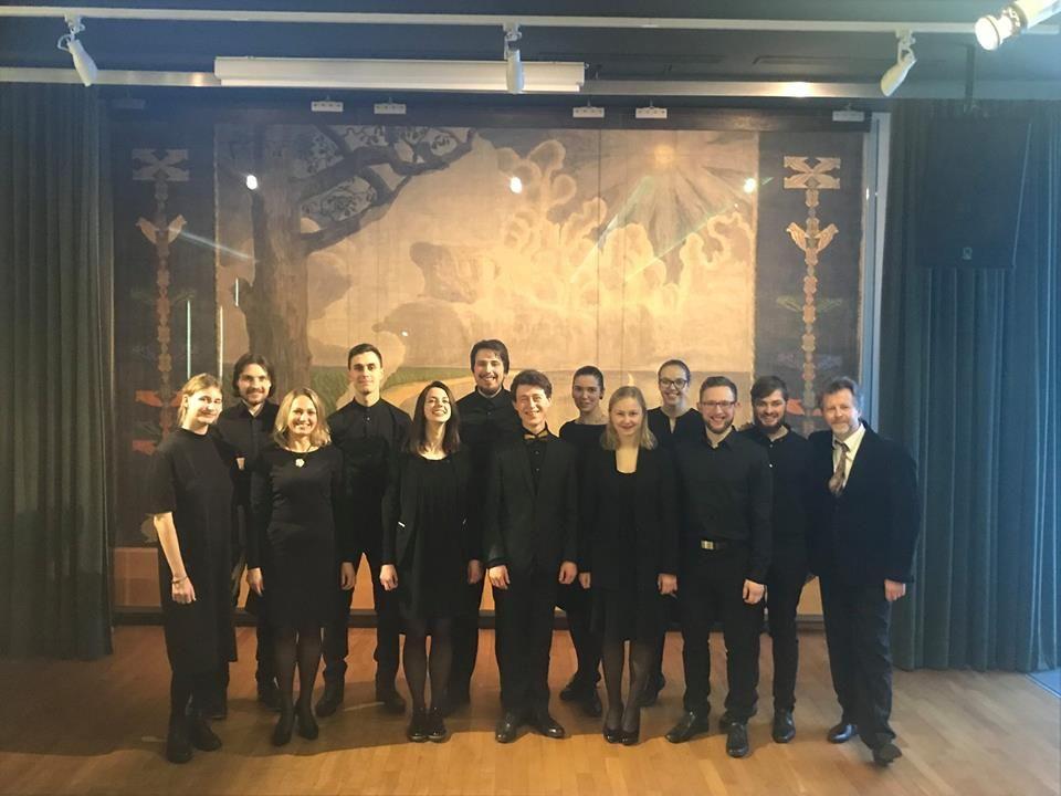Čiurlionio namų choro ir Roko Zubovo koncertas