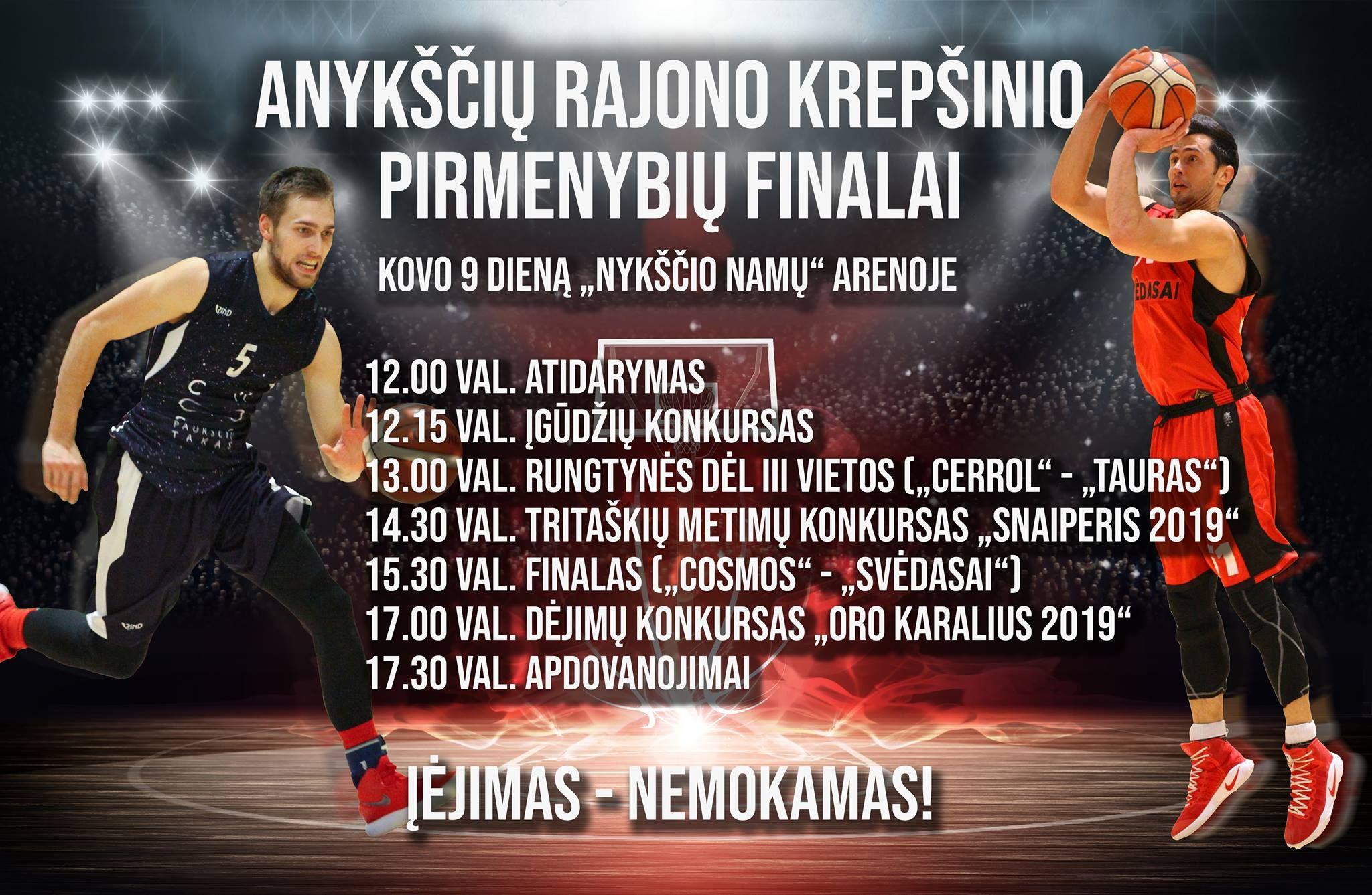 ARKL pirmenybių finalai
