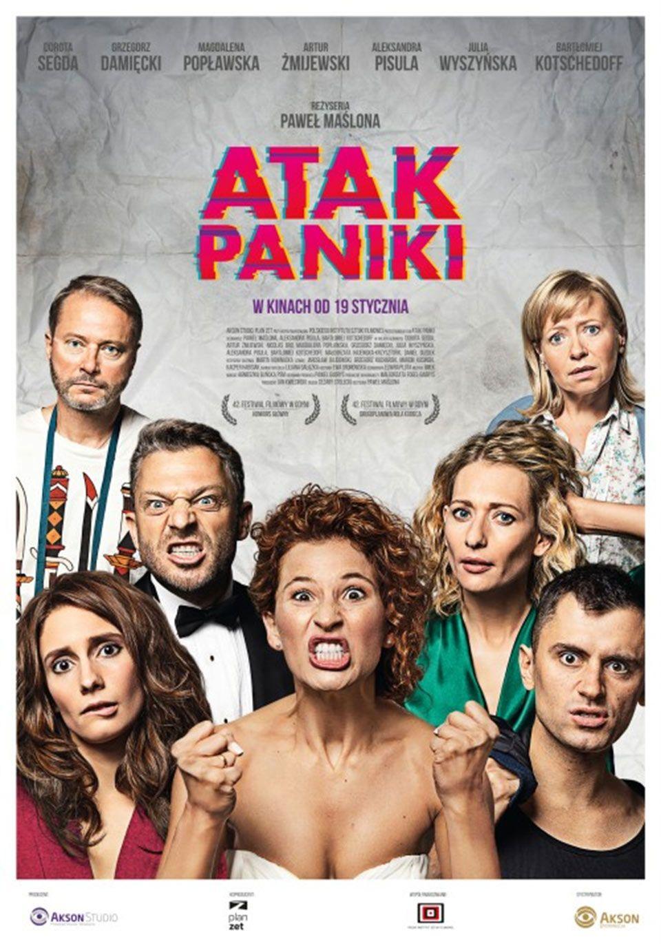 """""""Kino pavasaris"""" (2019) Anykščiuose / Pawel Maslona """"Panikos ataka"""" (2017, trukmė 1:40)"""