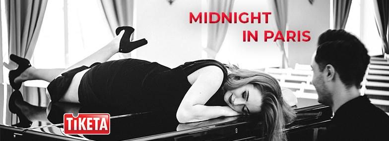 "Prancūziškos muzikos koncertas ""Midnight in Paris"""