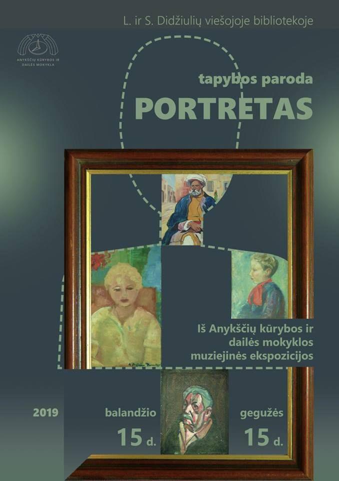 "Tapybos paroda ""Portretas"""