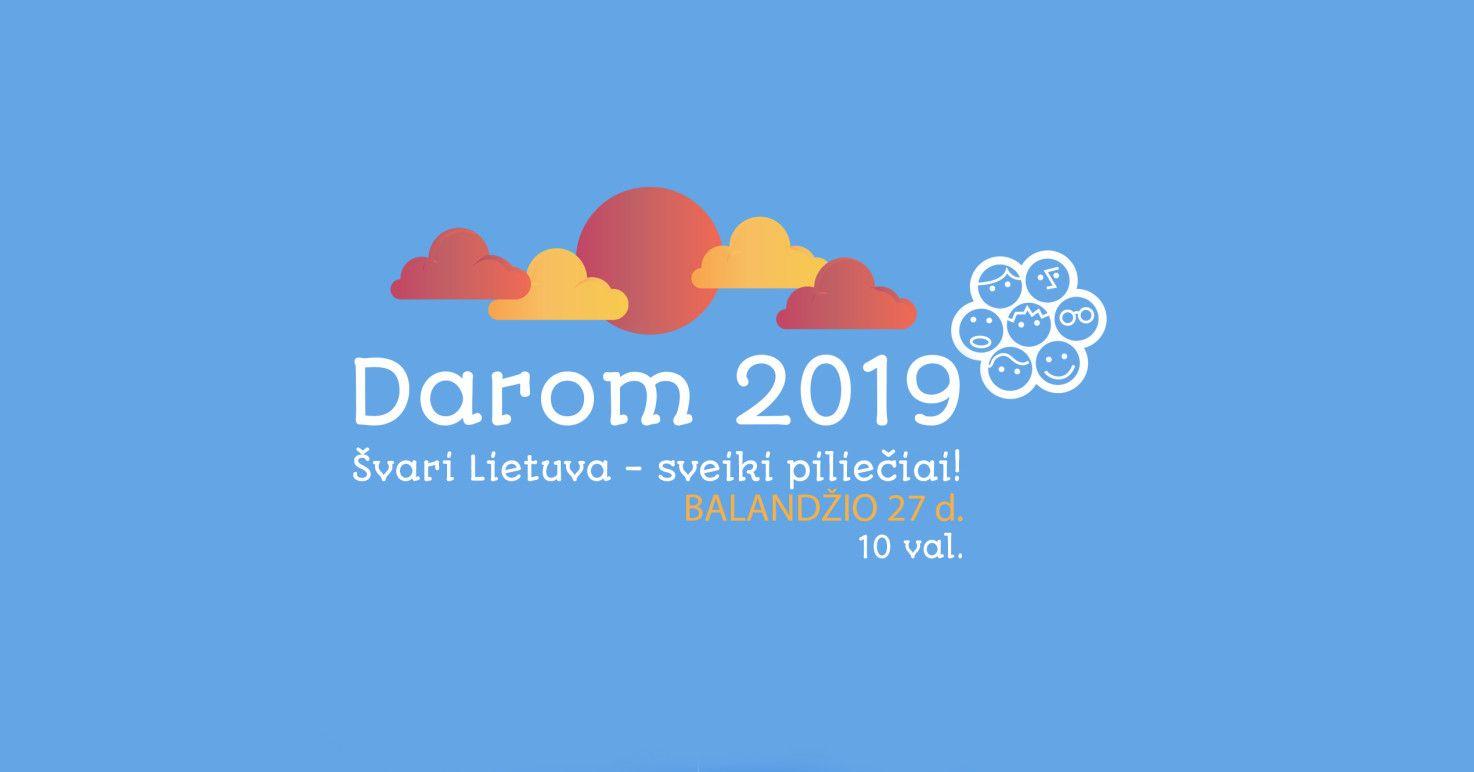 """Švarinimosi akcija """"Darom"""" (2019)"""