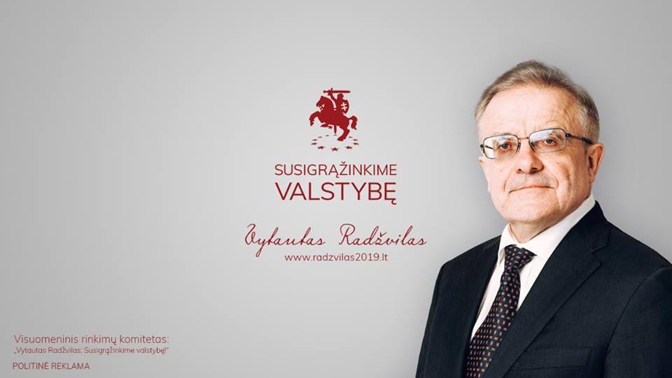 Nacionalinė bibliotekų savaitė (2019) / Susitikimas su Vytautu Radžvilu