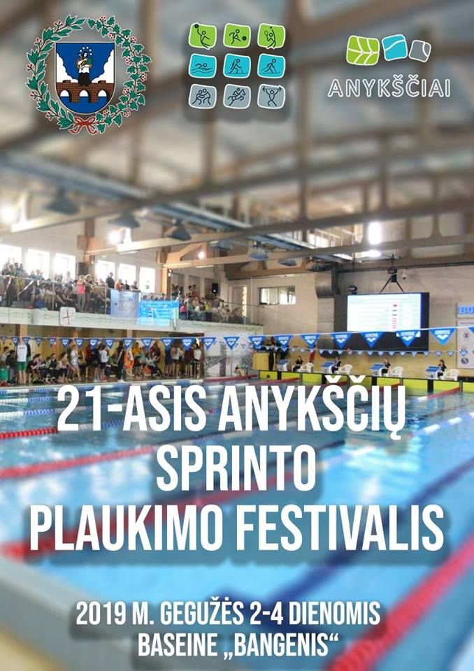 21-asis Anykščių sprinto plaukimo festivalis