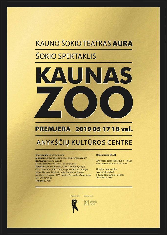 """Šokio festivalis """"PĖDOS"""" / Spektaklis """"Kaunas Zoo"""""""