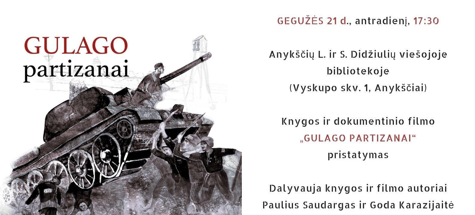 """Filmo ir knygos """"Gulago partizanai"""" pristatymas"""