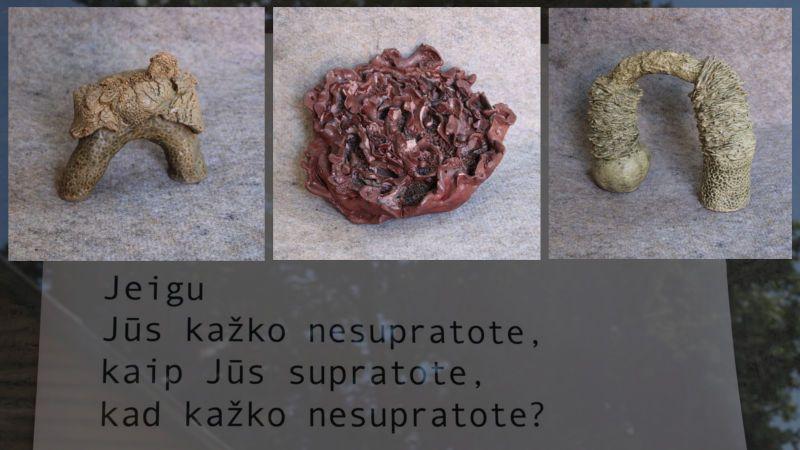Aleksandros Gromadskos keramikos kūrinių paroda