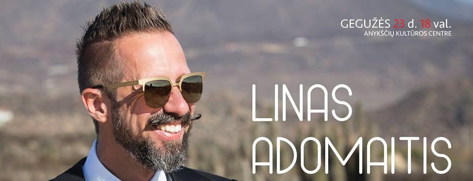 Lino Adomaičio koncertas Anykščiuose