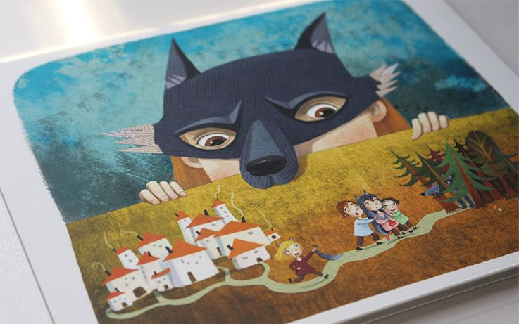 """Baltijos valstybių 100-mečiui skirta tarptautinė vaikų knygų iliustruotojų paroda """"Bėgimas su vilkais"""""""