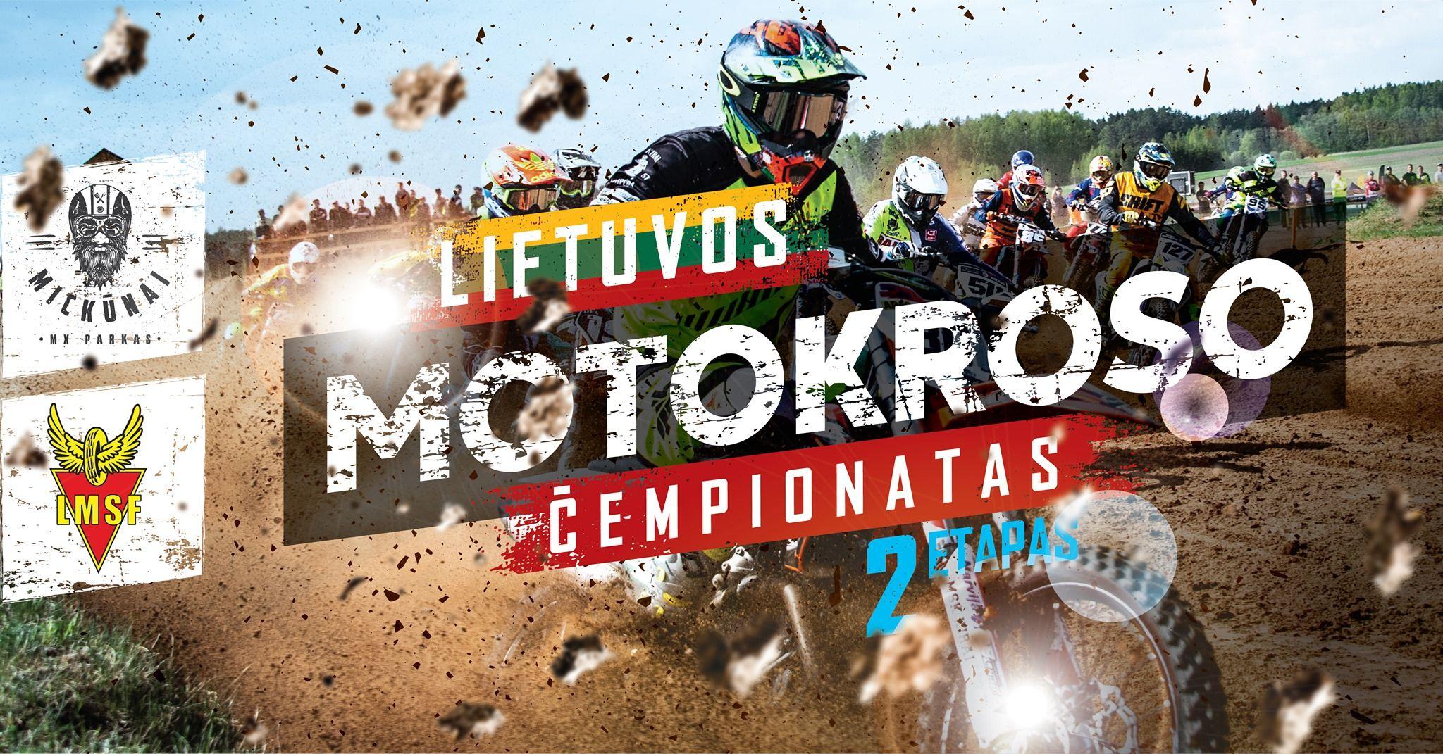 Lietuvos motokroso čempionatas 2019 (2 etapas) / Antra diena
