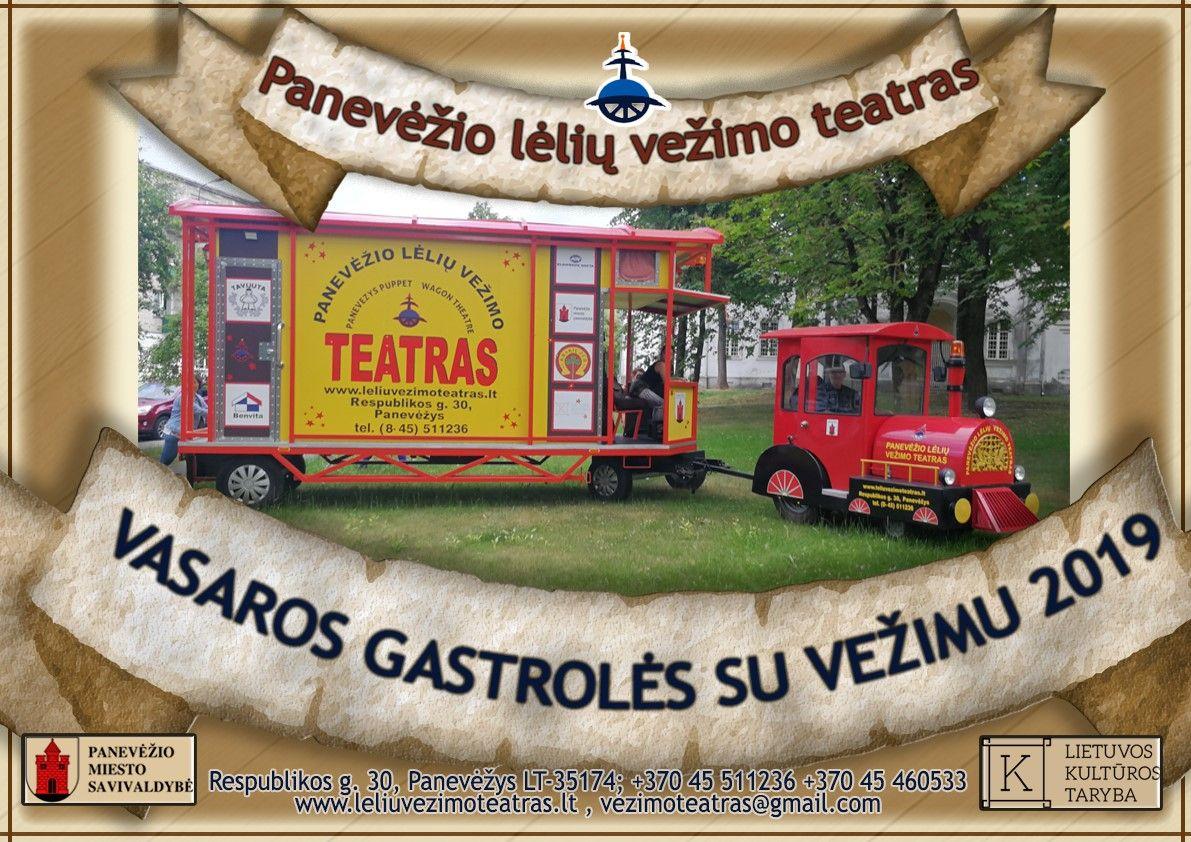 """Panevėžio Lėlių vežimo teatro spektaklis N. Osipova """"Pusantros saujos"""""""