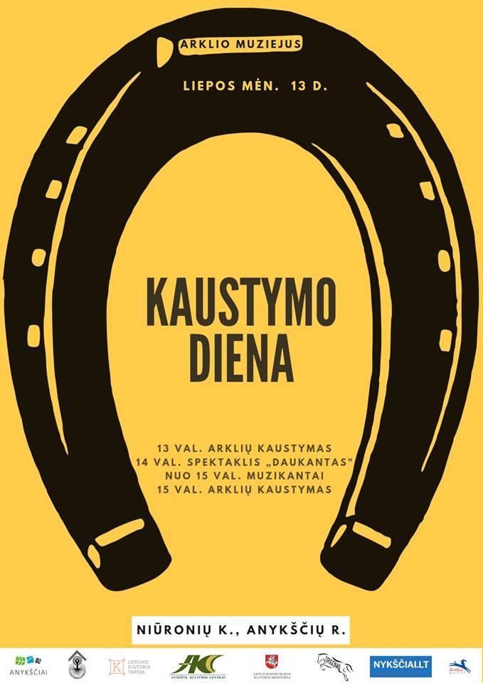 """Kaustymo diena / Spektaklis """"Daukantas"""" (J. Marcinkevičius)"""