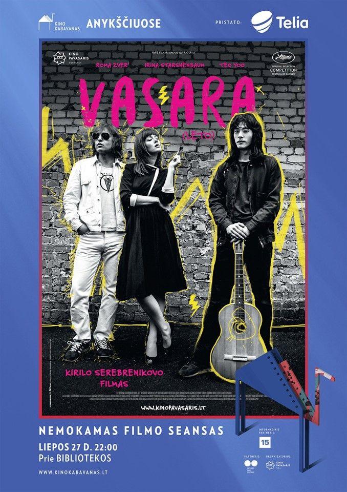 "Kino karavanas (2019) / Kirilo Serebrenikovo muzikinis filmas ""Vasara"""