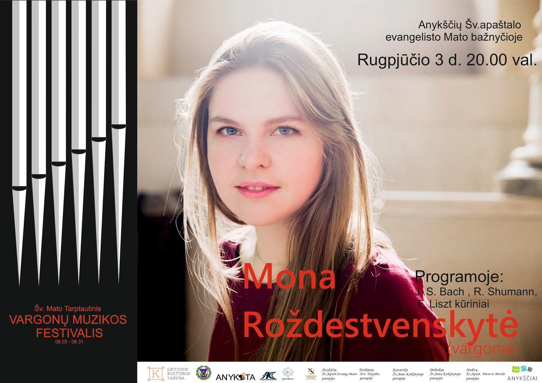Šv. Mato tarptautinis vargonų muzikos festivalis / Mona Roždestvenskytė (vargonai, Lietuva-Vokietija)