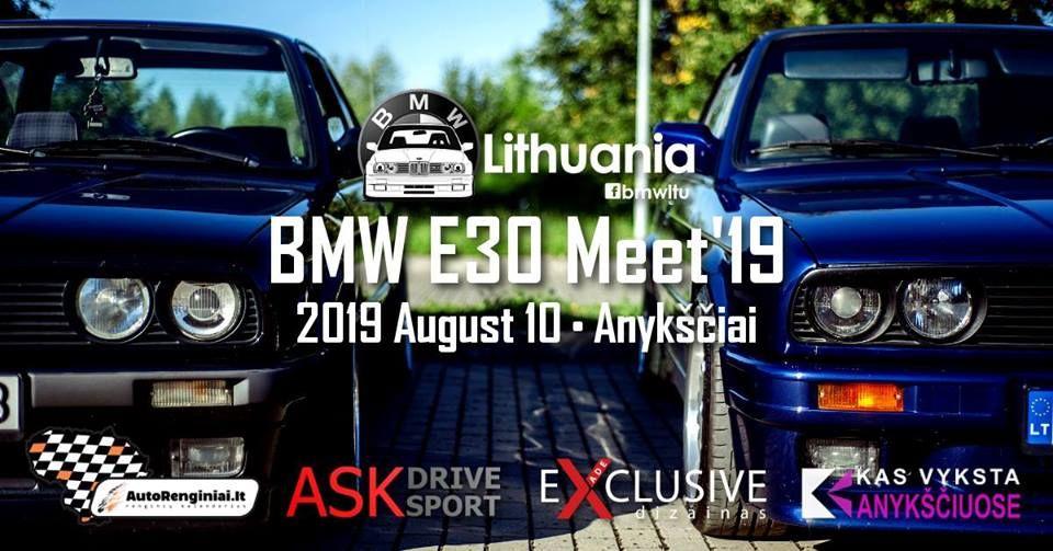 BMW E30 Meet