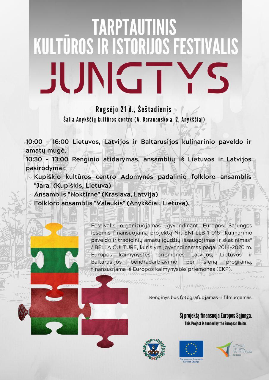 """Tarptautinis kultūros ir istorijos festivalis """"Jungtys"""""""