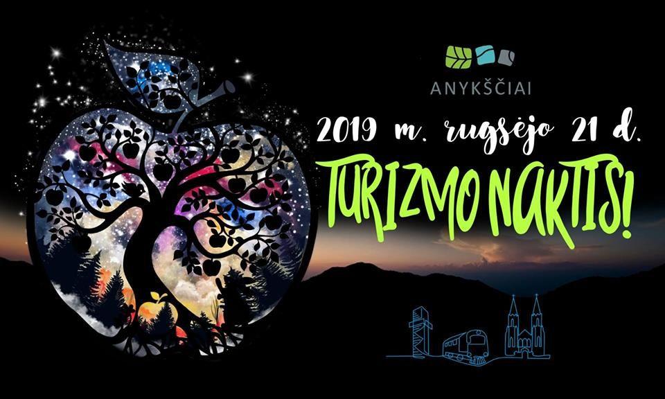 Turizmo naktis Anykščiuose 2019 m. rugsėjo 21 d.