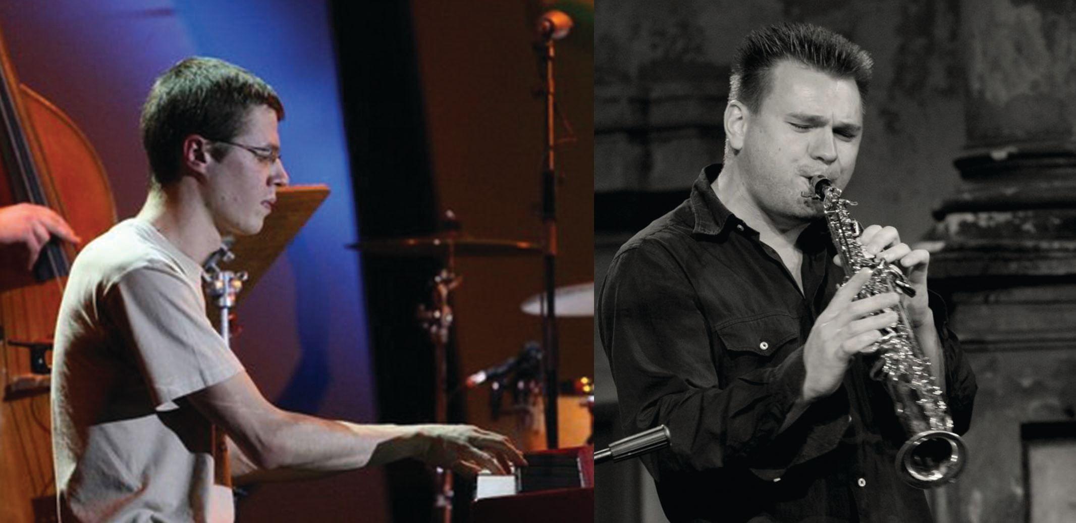 Džiazo duetas Jan Maksimovič (saksofonas) ir Dmitrij Golovanov (fortepijonas)